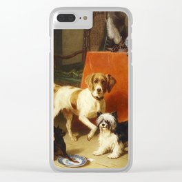53. Cunaeus, Conradyn (1828-1895) - Spilt Milk Clear iPhone Case