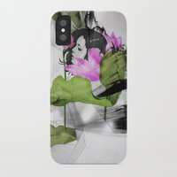 lotus iPhone & iPod Cases featuring Lotus by SEVENTRAPS