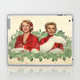 Sisters - A Merry White Christmas Laptop & iPad Skin