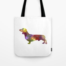 Dachshund in watercolor Tote Bag