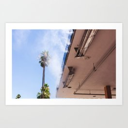 Palm Springs Heat Art Print