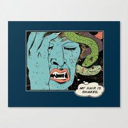 Mythical World Problems Canvas Print