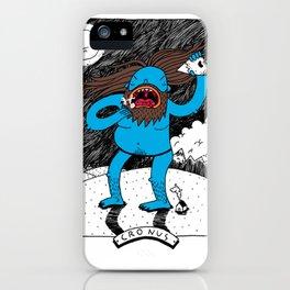 Cronus iPhone Case