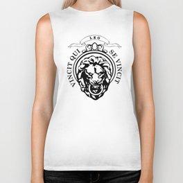 The Lion Conqueror  Biker Tank