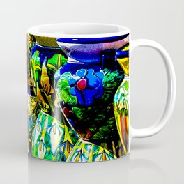 Talavera Pottery Jars for Sale in New Mexico Coffee Mug