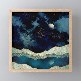 Indigo Sky Framed Mini Art Print