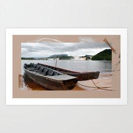 Venezuela Art Print