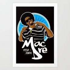 Andre 'Mac Dre' Hicks Art Print