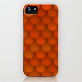 seamless pattern with roof tile iPhone Case