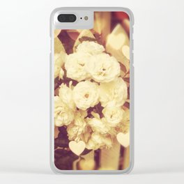 Flores Valentino Clear iPhone Case