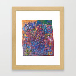 Crooked Canvas Framed Art Print