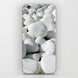 White stones iPhone Skin