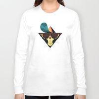 ape Long Sleeve T-shirts featuring Ape by Mikhail Kalinin