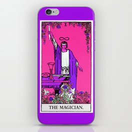 1. The Magician- Neon Dreams Tarot iPhone Skin
