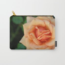 Single rose flower blooming Carry-All Pouch