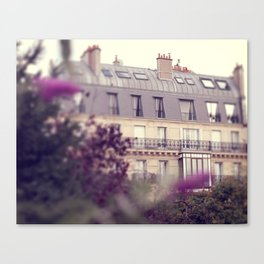 paris charm Canvas Print