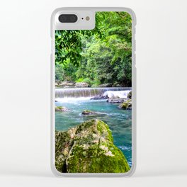 Blue River ||III|| Clear iPhone Case