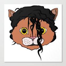 MJ Cat Head Canvas Print