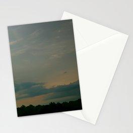 Aqua Blu Dusk Stationery Cards