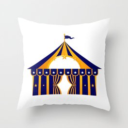 New! Circus tent designers Shop offer Throw Pillow