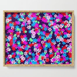 Flower Power Serving Tray