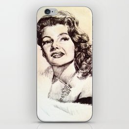 Rita Hayworth iPhone Skin