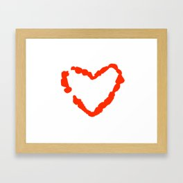 What Becomes of the Broken Hearted? Framed Art Print