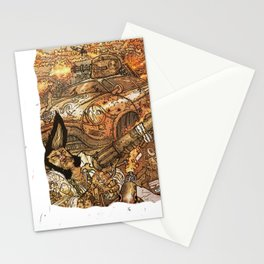 KING IS BACK! Stationery Cards