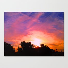 Color of morning Canvas Print