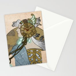 Steampunk Spain Stationery Cards