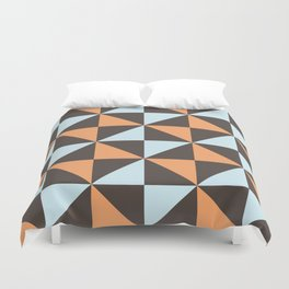 Geo Cross Black Duvet Cover