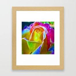 ▲►elegance is a glowing inner peace◄▲ Framed Art Print