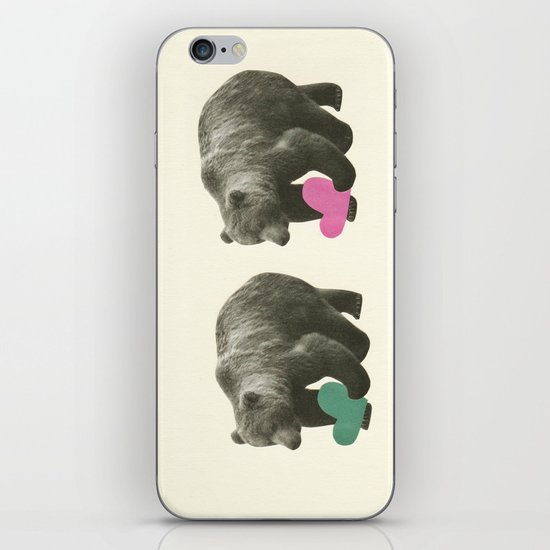 A Bear Romance iPhone & iPod Skin