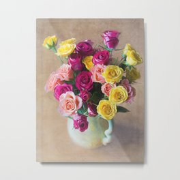 Rose Art - The Sweetest Joy Metal Print