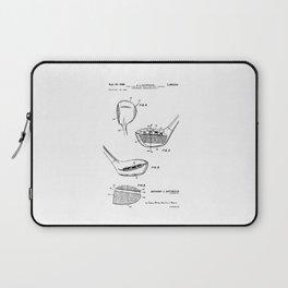 patent art Antonious Golf Club of the wood type 1969 Laptop Sleeve