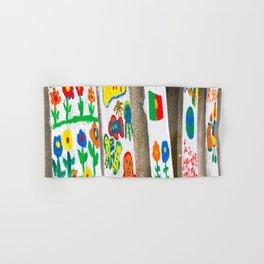 Children's artwork Hand & Bath Towel