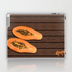 papaya fruit Laptop & iPad Skin
