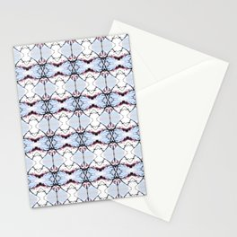 red Malus Radiant crab apple blossoms #7 pattern Stationery Cards