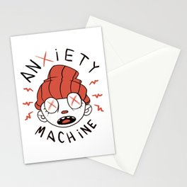 Anxiety Machine Stationery Cards
