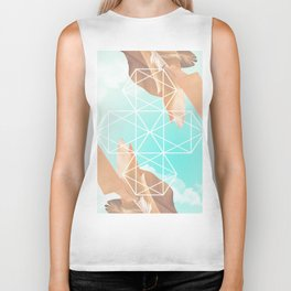 hexagon Biker Tank