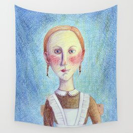 First grade pupil Wall Tapestry