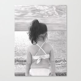 Facing Immensity Canvas Print