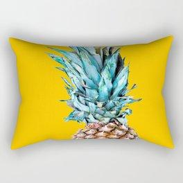 Pineapple Ananas On A Yellow Mellow Background #decor #society6 #buyart Rectangular Pillow