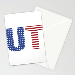 Utah 4th Of July Stationery Cards