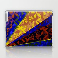 Aztec Geometric Beam Laptop & iPad Skin