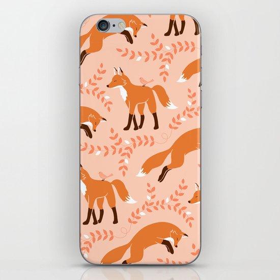 Socks the Fox - Dawn iPhone & iPod Skin