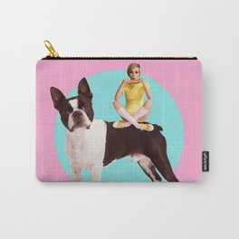 Twiggy and the Pups | Boston Terrier Carry-All Pouch