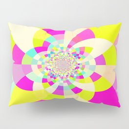 Bright & Pastel Kaleidoscope Pillow Sham