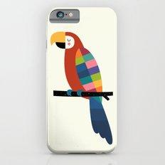 Rainbow Parrot iPhone 6s Slim Case