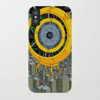 rogue iPhone & iPod Cases featuring Rogue Robot by Micke Nikander